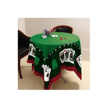 Imagem de Toalha De Mesa Para Jogos Jocker Baralho Poker Lepper
