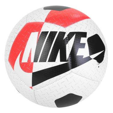 Bola de Futebol Campo Nike Street Akka SC3975-101, Cor: Branco/Preto, Tamanho: PRO