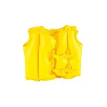 Imagem de Colete Inflável Infantil Mor - Amarelo