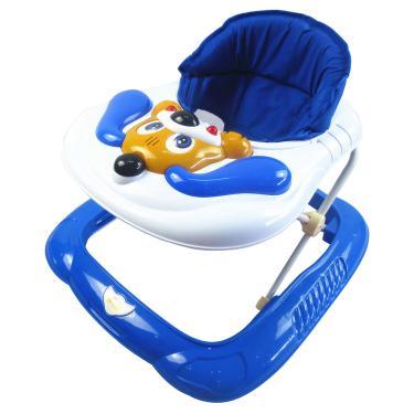 Andador Bebê Musical Recreativo Baby Style Cachorro Azul
