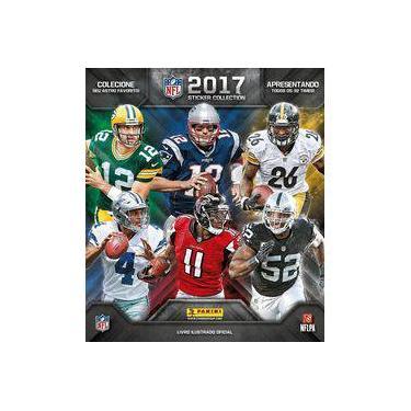 Álbum De Figurinhas NFL 2017/2018 - Capa Dura - Panini - 9788583682592
