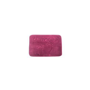 Imagem de Tapete de Banheiro Soft Memory Foam 40 x 60 cm Roxo