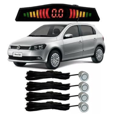 Sensor De Estacionamento Ré Volkswagen Gol Todos Prata