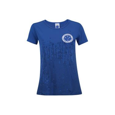 Camiseta do Cruzeiro Rise - Feminina - AZUL ESCURO Xps Sports cd2eb98fb73f7