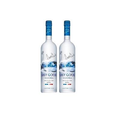 Kit Vodka Grey Goose 750ml - 2 garrafas