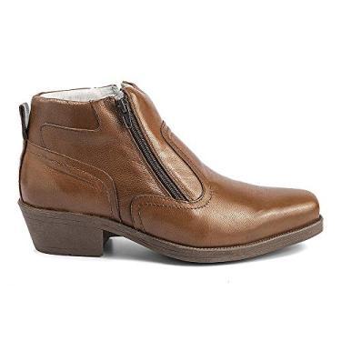 Bota Conforto Hb Agabe Boots - 403.000 - Pl Tabaco - Solado de Borracha PVC Bota Conforto Hb Agabe Boots - 403.000 - Pl Tabaco - Numero:44