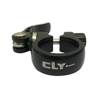 Abraçadeira de Selim Cly Components AB 31.8mm em Alumínio - Preto