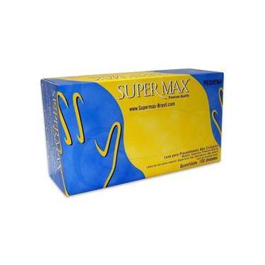 Luva Látex Supermax para procedimento não cirúrgico Tam. PP