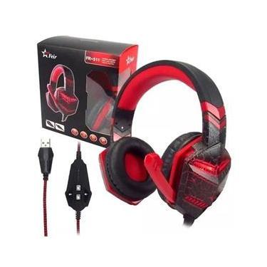 Headset Gamer Fone de Ouvido Feir FR511 P/ Pc Ps4 Ps3 Notebook