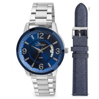 5244e9d7926 Relógio Masculino Condor CO2115XV K5A Prata