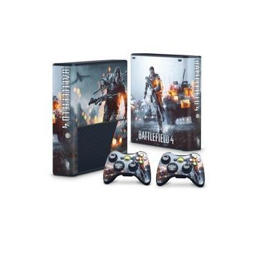 Skin Adesivo para Xbox 360 Super Slim - Battlefield 4