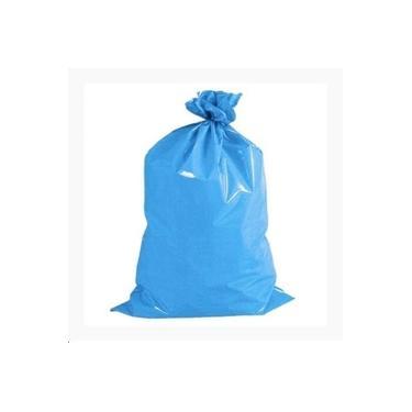 Saco Lixo Azul 100l C/100 Unidades