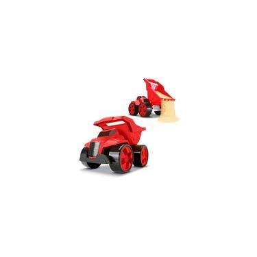 Imagem de Caminhão combo 2 tractor and truck cardoso toys