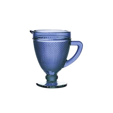 Jarra de Vidro Azul 1L Bico de Jaca Bon Gourmet