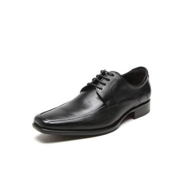 Sapato Social Couro Democrata Hampton Preto Democrata 430025-001 masculino