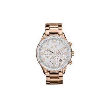 0f5ee67c503 Relógio Armani Exchange Feminino Rose Gold - Uax5107 n