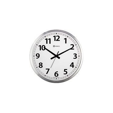 Relógio de Parede 35,5cm alumínio c/fundo branco 6712-079 Herweg CX 1 UN