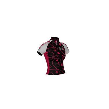 Camisa Ciclismo Ciclista Bike Roupa Uniforme Infantil Heart