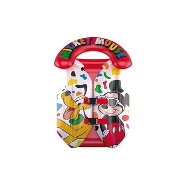 Imagem de Colete Inflável Criança Infantil Praia Piscina Mickey Mouse