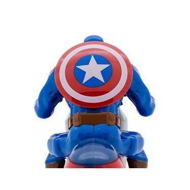 Imagem de Moto à Fricção Capitão América Vingadores Marvel Toyng