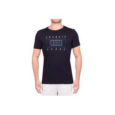 Camiseta Lacoste Tennis Training TH3497 Marinho