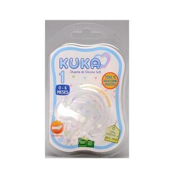 Chupeta Soft Silicone Ortodontica 0-6 Meses Kuka 62700