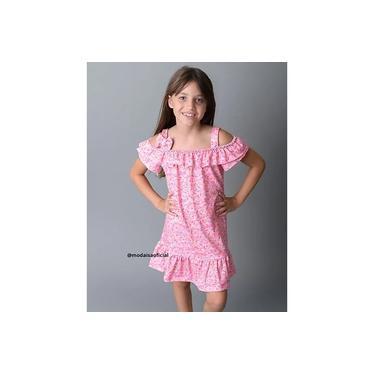 Vestido Ciganinha Confeitos Rosa YoLoveYo