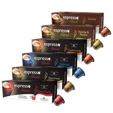 Imagem de Kit Completo Espresso Blend De Cápsulas De Café - Compatível Com Nespr
