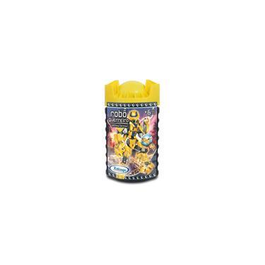 Imagem de Robo guerreiro yellow armor 57 pecas xalingo