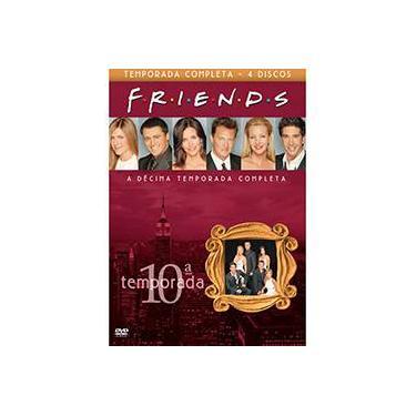 Box DVD - Coleção Friends - 10ª Temporada (4 Discos)
