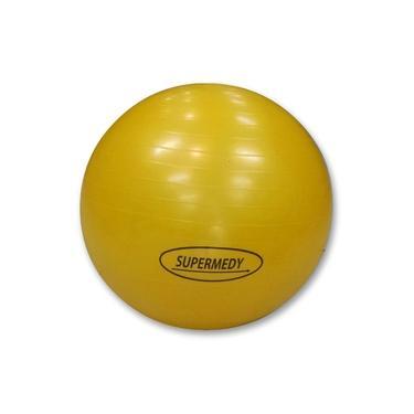 Imagem de Bola de Pilates 55 cm Amarela c/ Bomba Supermedy