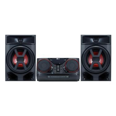 Mini System LG XBOOM CK43 com Multi Bluetooth, 2 USB, Sound Sync, Wireless, 220W RMS