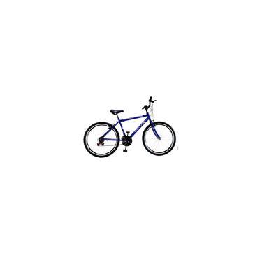 Imagem de Bicicleta Aro 26 Masculina Azul 18 Marchas c/ Aros Aero