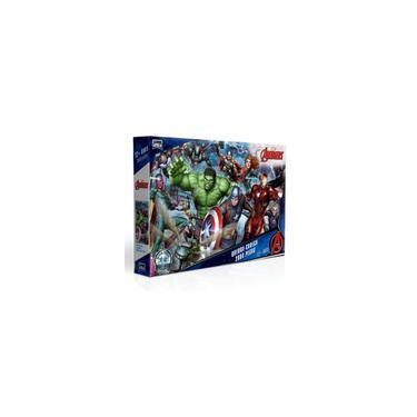 Imagem de Quebra-cabeça Game Office Os Vingadores 2000 Peças