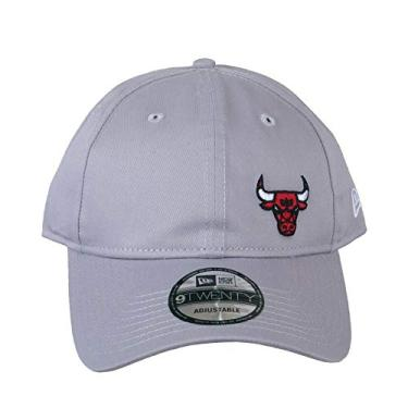 BONÉ NEW ERA CHICAGO BULLS CINZA