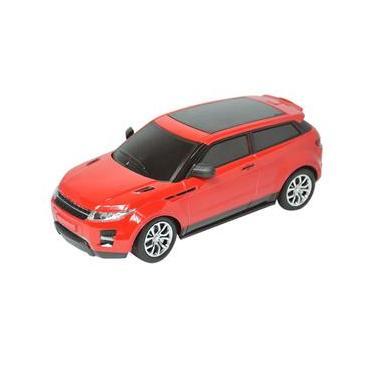 Carrinho De Controle Remoto Land Rover 25cm Bateria Recarregável DMT5051 - DM Toys