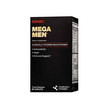 Mega Men Multivitaminíco 90 Cápsulas GNC