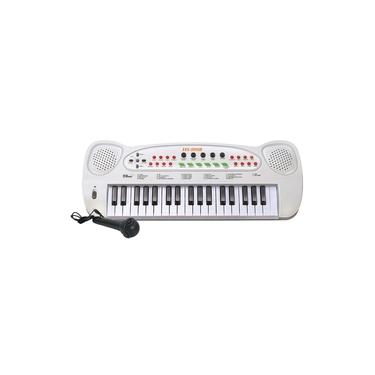 Teclado Piano Musical Infantil Eletrônico Com Microfone