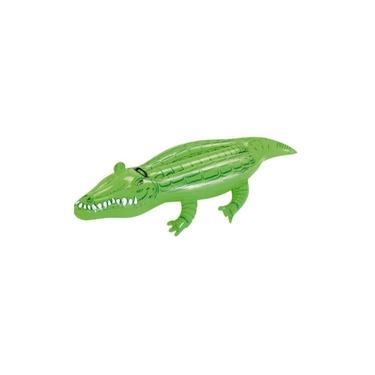 Boia Infantil Inflável Crocodilo 1,63m x 72cm Mor