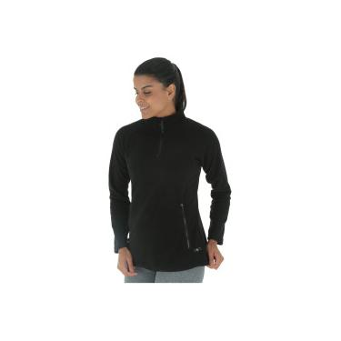 39cc1a3a7dbc2 Blusa de Frio Fleece Nord Outdoor Basic - Feminina - PRETO Nord Outdoor