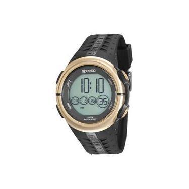 9460d03f8de Relógio Masculino Speedo 81144G0EVNP1 Digital Preto Dourado