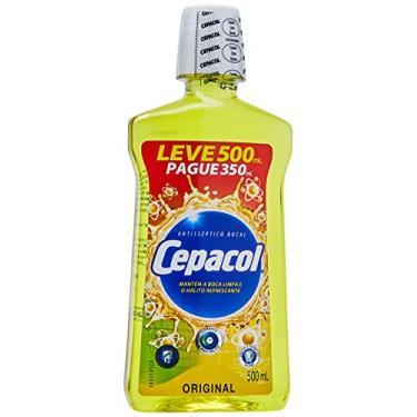 Cepacol Enxaguante Bucal Tradicional Lv 500Ml Pg 350Ml, Sanofi
