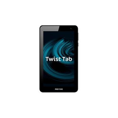 "Tablet Positivo Twist Tab T770B 32GB Wi-Fi Tela 7"" Android QuadCore de 1,5 GHz - Cinza Escuro"