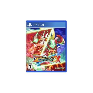 Jogo Mega Man Zero/ZX Legacy Collection - PS4