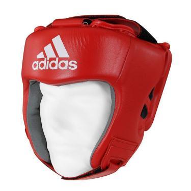 Protetor De Cabeça Adidas Aiba Approved Vermelho G
