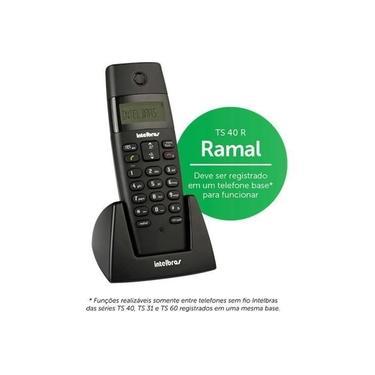 Ramal Sem Fio Intelbras 6.0 TS40R