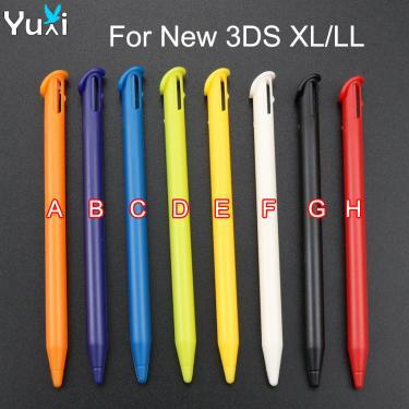 YuXi 2 pçs/lote Plástico e Metal Retrátil Toque da Caneta Stylus para Nintendo Novo 3DS XL LL