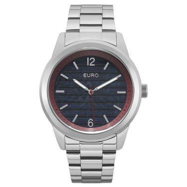 88edbe6b358 Relógio Euro Feminino Analógico EU2033AP 3A - Preto