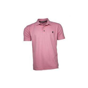 255e67ec17 Camisa Polo Masculina Rosa