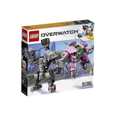 Lego Overwatch D Va & Reinhardt 75973